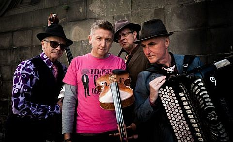 Budapest Café Orchestra Promotional Picture