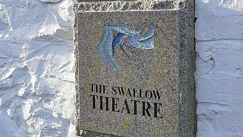 Picture of The Swallow Theatre granite sign