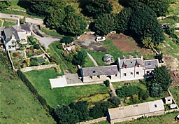 Aerial View of The Swallow Theatre