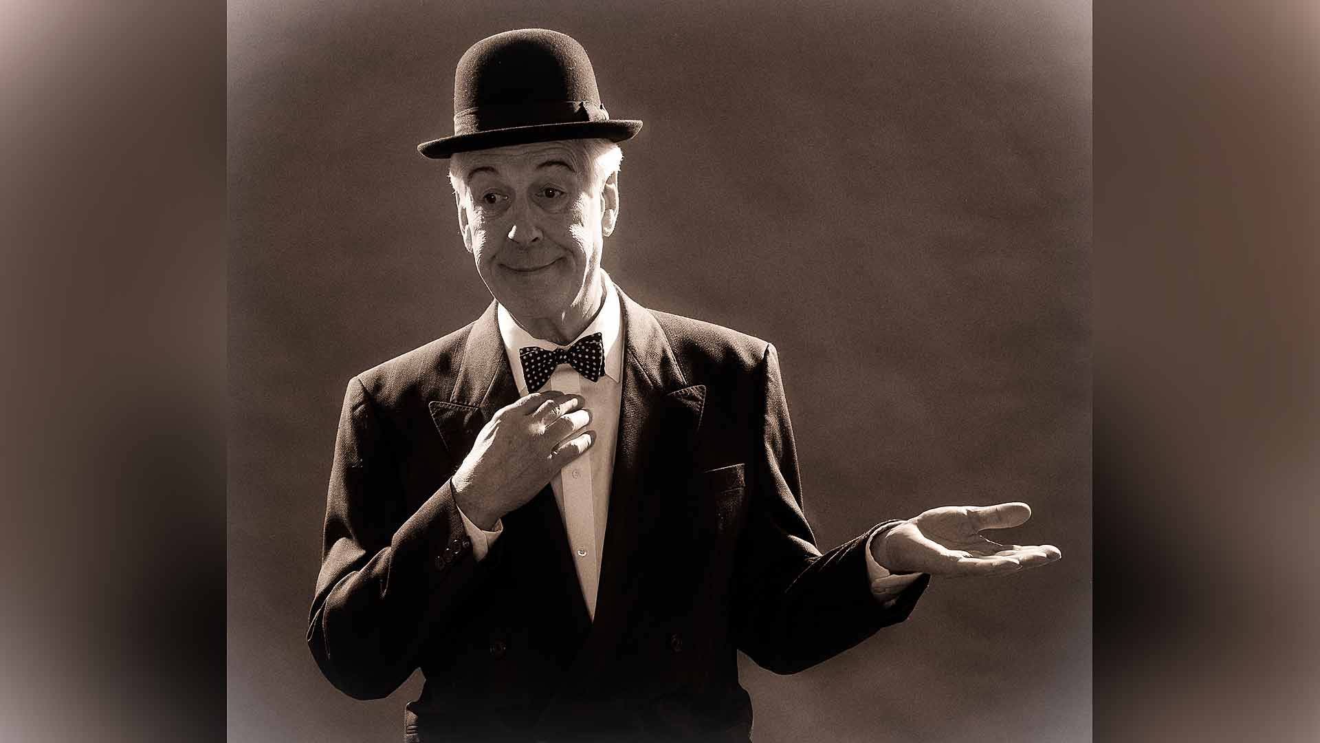 And this is my friend Mr Laurel publicity picture